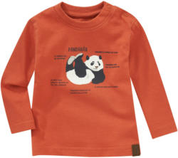 Baby Langarmshirt mit Panda-Print (Nur online)