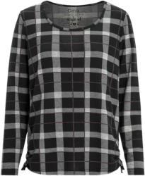 Damen Langarmshirt im Karo-Dessin (Nur online)