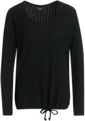 Damen Langarmshirt mit Rippenstruktur (Nur online)