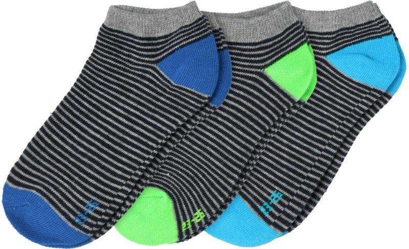 3 Paar Jungen Sneaker-Socken im Set (Nur online)
