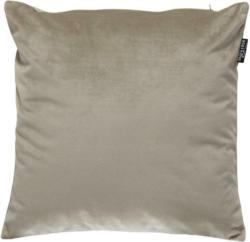 KISSENHÜLLE Silberfarben 40/40 cm
