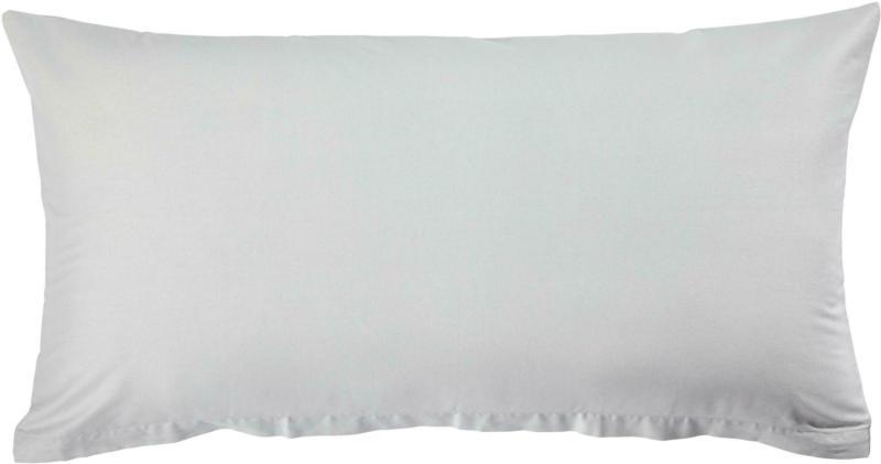 KISSENHÜLLE Silberfarben 40/80 cm