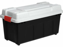 """Aufbewahrungsbox """"Giant"""", 65L, schwarz-weiß 65 L"""