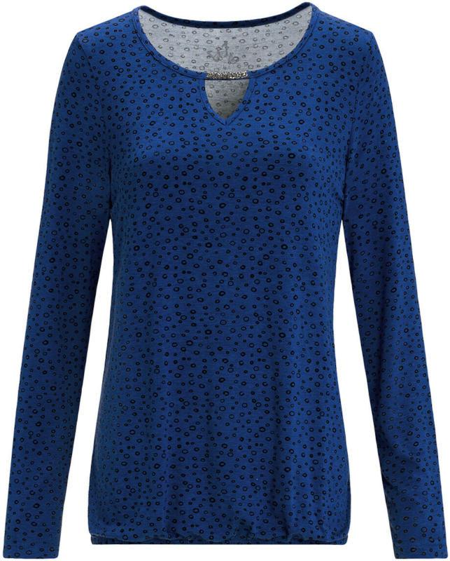 Damen Langarmshirt mit Glitzersteinchen (Nur online)