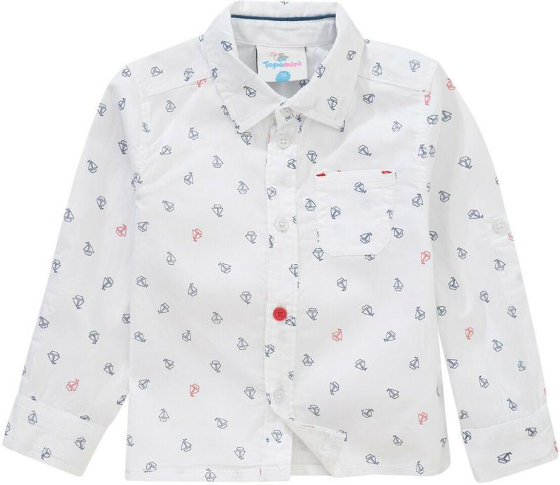 Baby Hemd mit Segelboot-Motiven (Nur online)