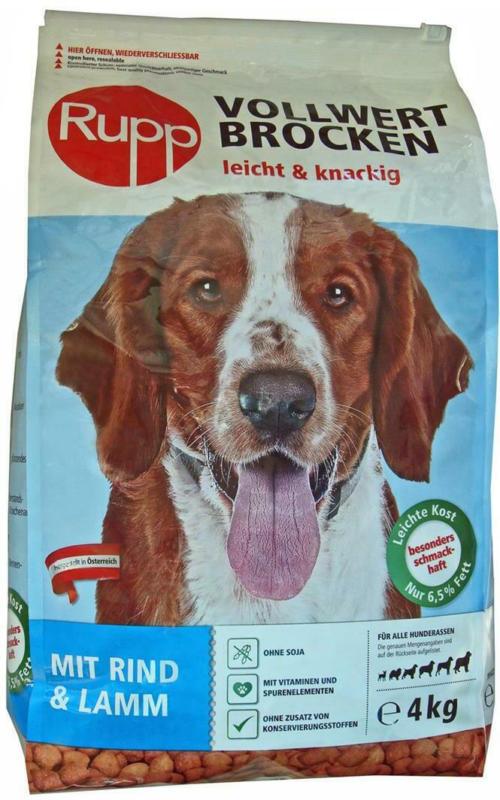 Rupp Hundebrocken mit Rind & Lamm