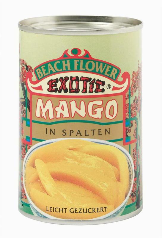Beach Flower Mangos in Spalten