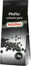 Kotányi Pfeffer Schwarz Ganz