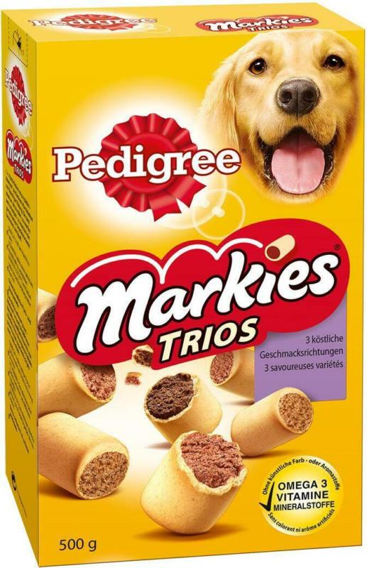 Pedigree (Snacks) Markies Trio
