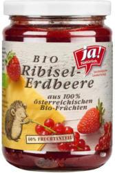 Ja! Natürlich Bio Ribisel-Erdbeere Fruchtaufstrich