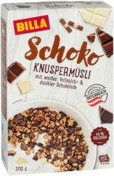 BILLA Knuspermüsli Schoko
