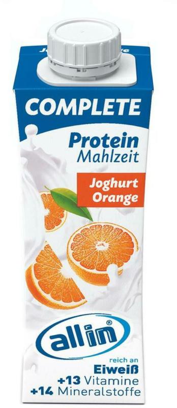 Allin Complete Protein Joghurt Orange