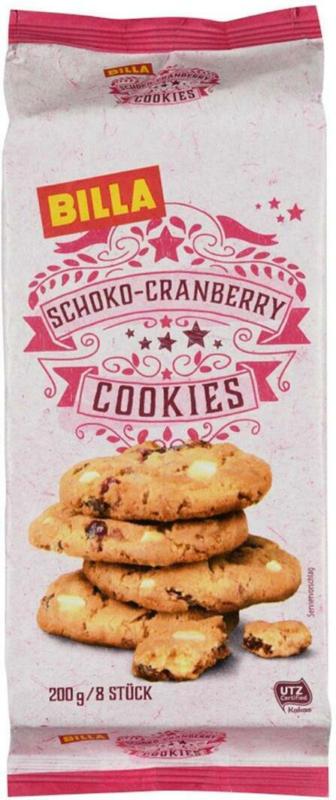 BILLA Schoko-Cranberry Cookies