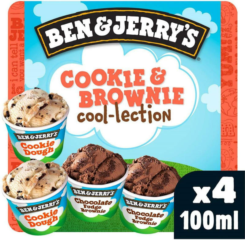 Ben & Jerry's Cookie & Brownie Cool-Lection