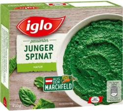 Iglo Spinat doppelt passiert