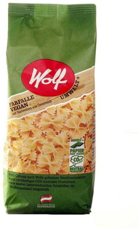 Wolf Grießfarfalle Vegan