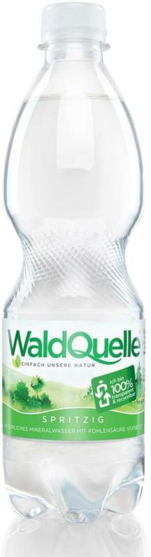 Waldquelle Mineralwasser Spritzig