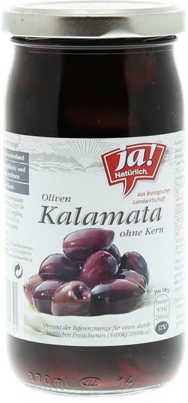Ja! Natürlich Kalamata Oliven ohne Kern