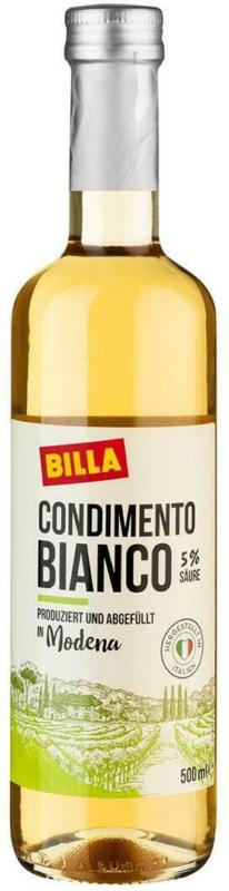 BILLA Condimento Bianco