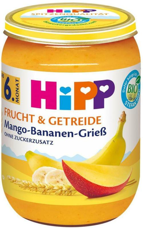 Hipp Mango-Bananen-Grieß