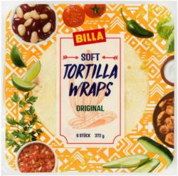 BILLA Soft Tortilla Wraps