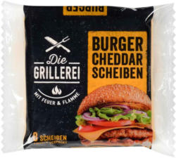 Die Grillerei Burger Cheddar Scheiben