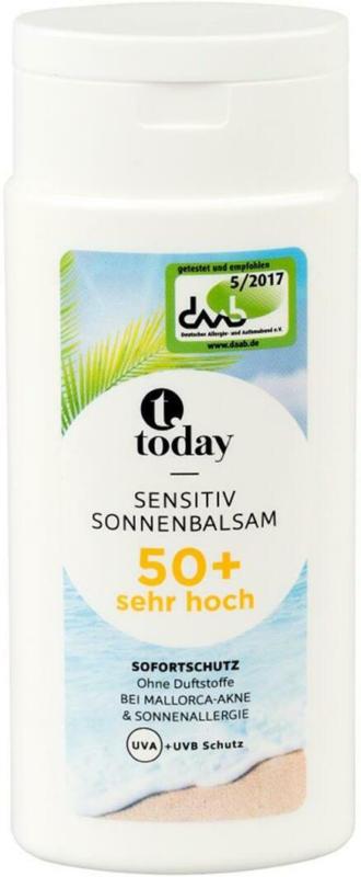 Today Sensitiv Sonnenbalsam LSF 50