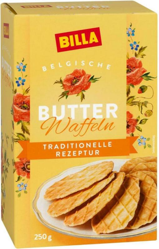 BILLA Belgische Butterwaffel