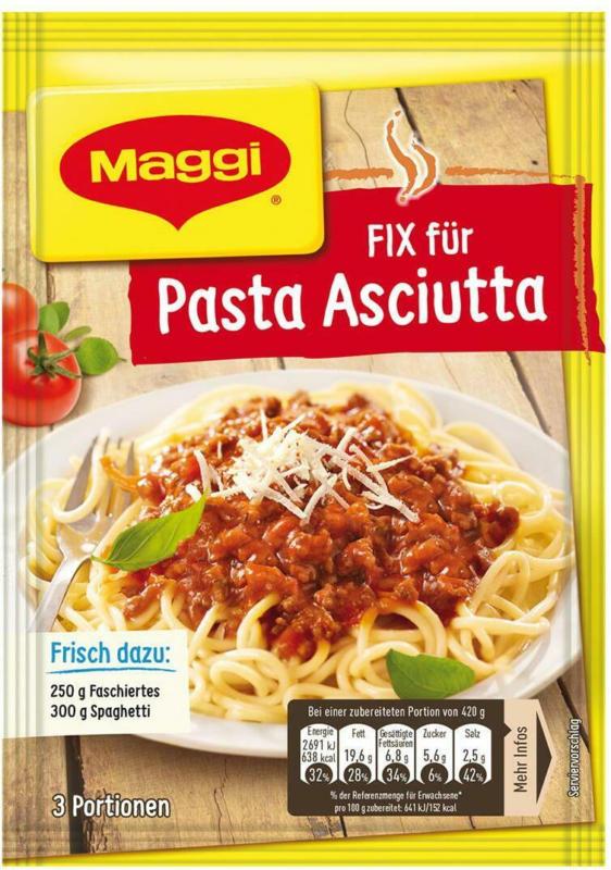 MAGGI Fix für Pasta Asciutta