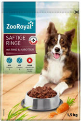 ZooRoyal Saftige Ringe mit Rind & Karotten
