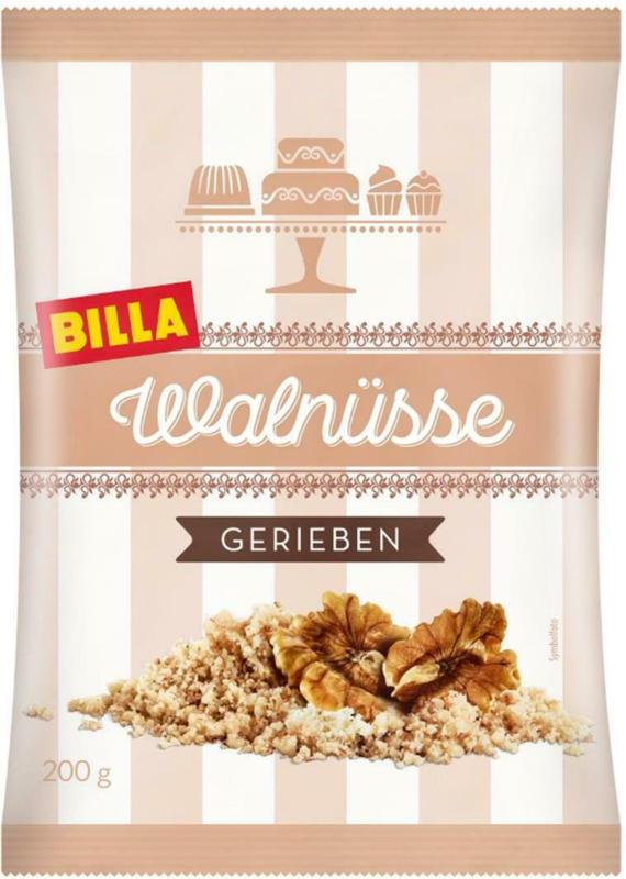 BILLA Walnüsse Gerieben