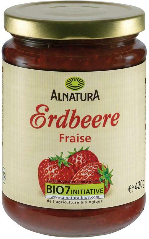 Alnatura Erdbeere Fruchtaufstrich