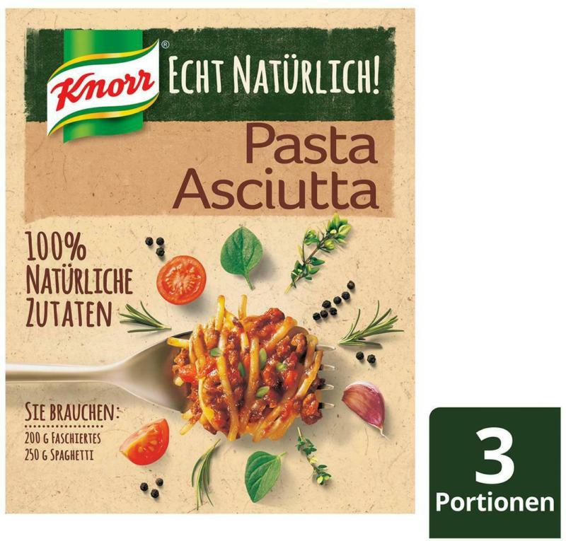 Knorr Echt Natürlich! Pasta Asciutta