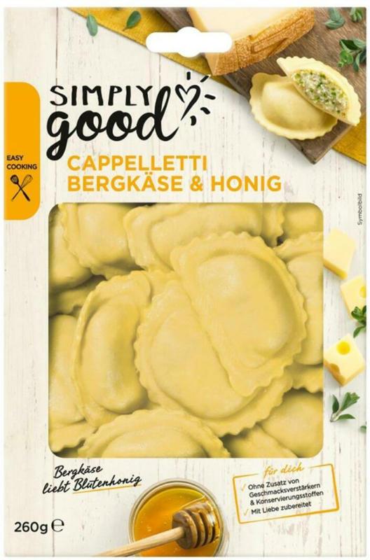 Simply Good Cappelletti Bergkäse & Honig