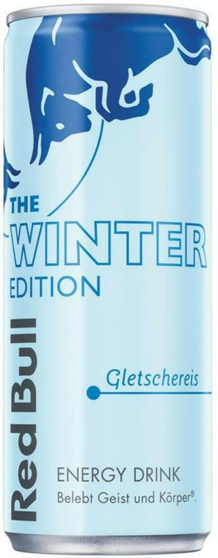 Red Bull Winter Edition Gletschereis