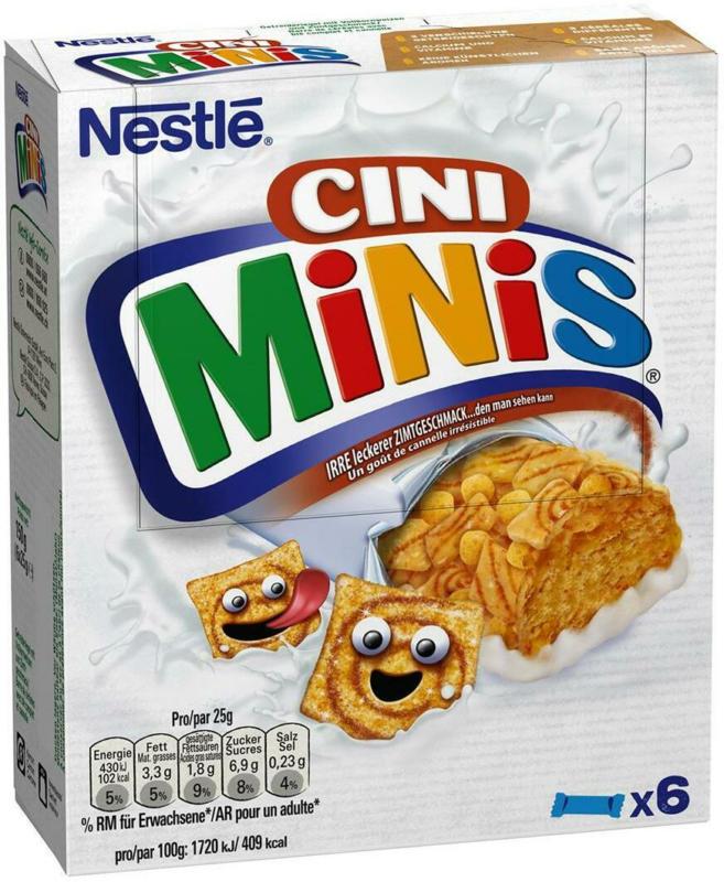 Nestlé Cini Mini Cerealien Riegel
