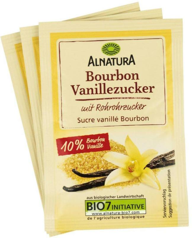 Alnatura Bourbon Vanillezucker 3er
