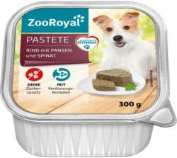 ZooRoyal Pastete Rind mit Pansen und Spinat