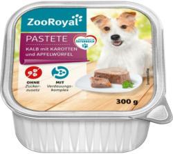 ZooRoyal Pastete Kalb mit Karotten und Apfelwürfel