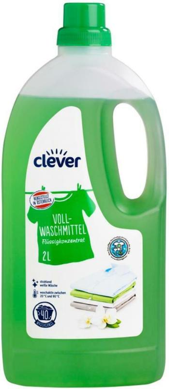 Clever Vollwaschmittel Flüssig