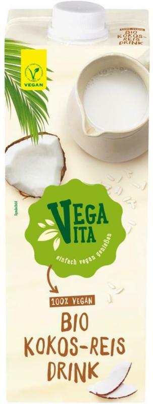 Vegavita Bio Kokos-Reisdrink