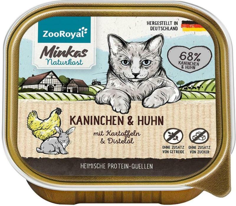 ZooRoyal Minkas Kaninchen & Huhn