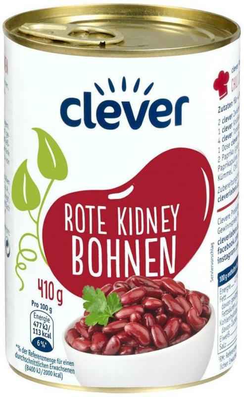 Clever Rote Kidney Bohnen
