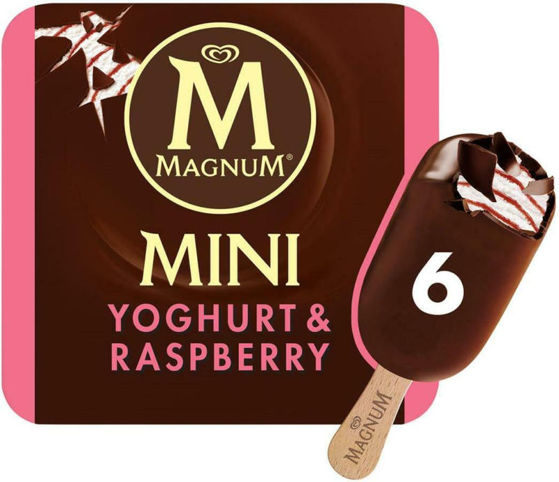 Eskimo Magnum Mini Yoghurt Raspberry 6er