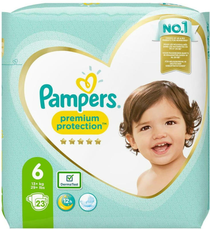 Pampers Premium Protection Gr. 6 Einzelpack
