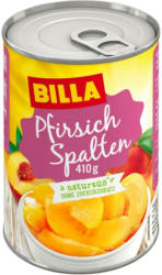BILLA Pfirsichspalten Natursüß