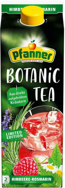 Pfanner Botanic Tee Himbeere Rosmarin