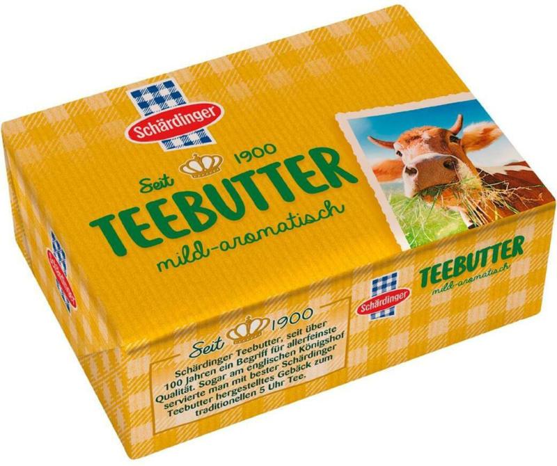 Schärdinger Teebutter (Sauerrahm)