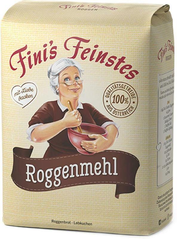 Fini's Feinstes Roggenmehl