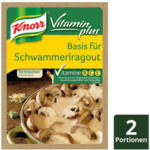 BILLA Knorr Basis für Vitamin Plus Schwammerlragout
